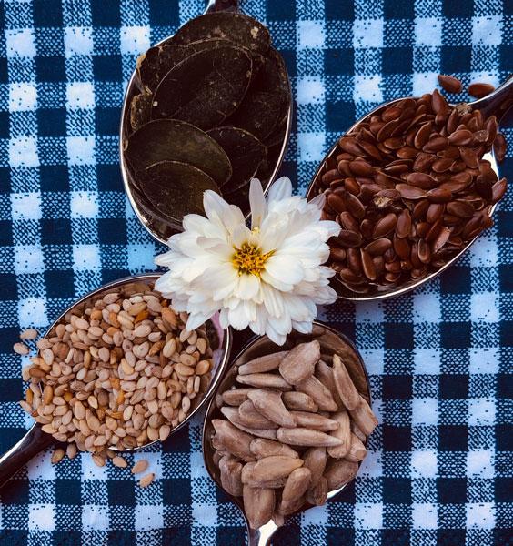 Natürliche Samen enthalten wichtige Pflanzenöle